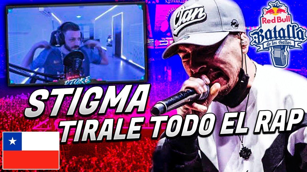 STIGMA TIRALE TODO EL RAP ENCIMA | RESUMEN RED BULL CHILE FINAL 2020 PARTE 1