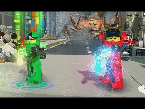 LEGO The Ninjago Movie: Video Game - Ninjago City Downtown - Part 1 [FREE PLAY] - PS4