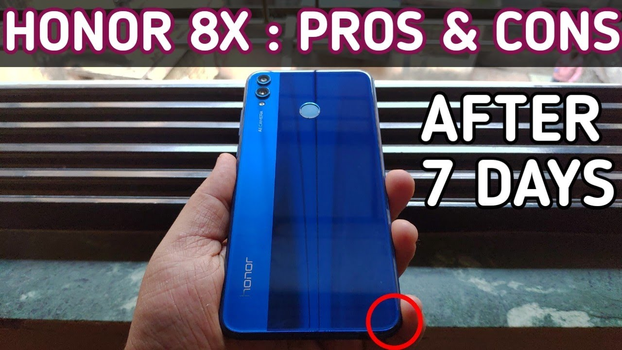 Honor 8X Honest Review : After 7 Days Of Usage | Best Phone Under 15000?  [Hindi]