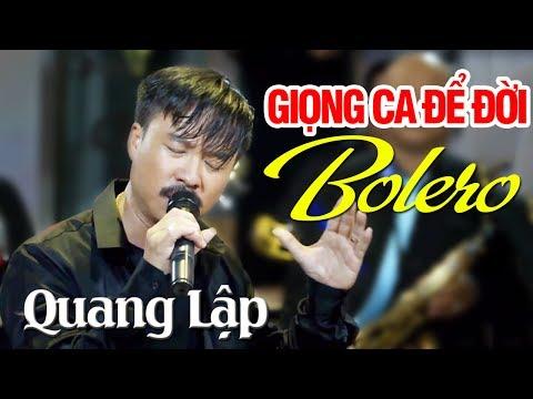 QUANG LẬP BOLERO - Chiều Sân Ga | Nhạc Vàng Bolero Xưa Hay Tê Tái Giọng Ca Để Đời