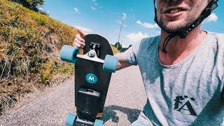 Mellow Skateboard after the update - Vlog #354