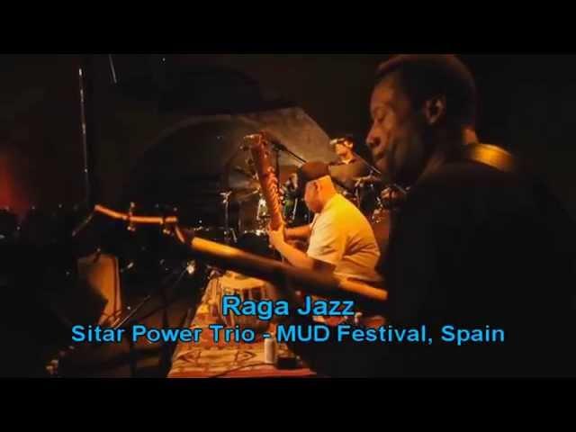 Ashwin Batish & his Sitar Power Trio Live, MUD Festival, Spain - Raga Jazz!