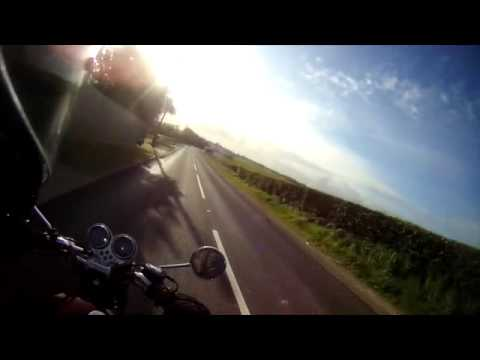 T100 Bonneville rides out with Steve: Longfield and Hartley (Kent)