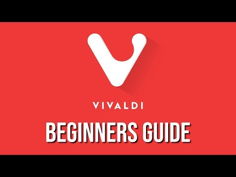 Vivaldi Web Browser (Beginners Guide)