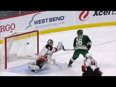 Wild show off speed with three goals in less than two minutes