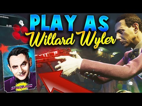 How to Play As Willard Wyler Easter Egg Guide! - Infinite Warfare Zombies Playable Character Guide!
