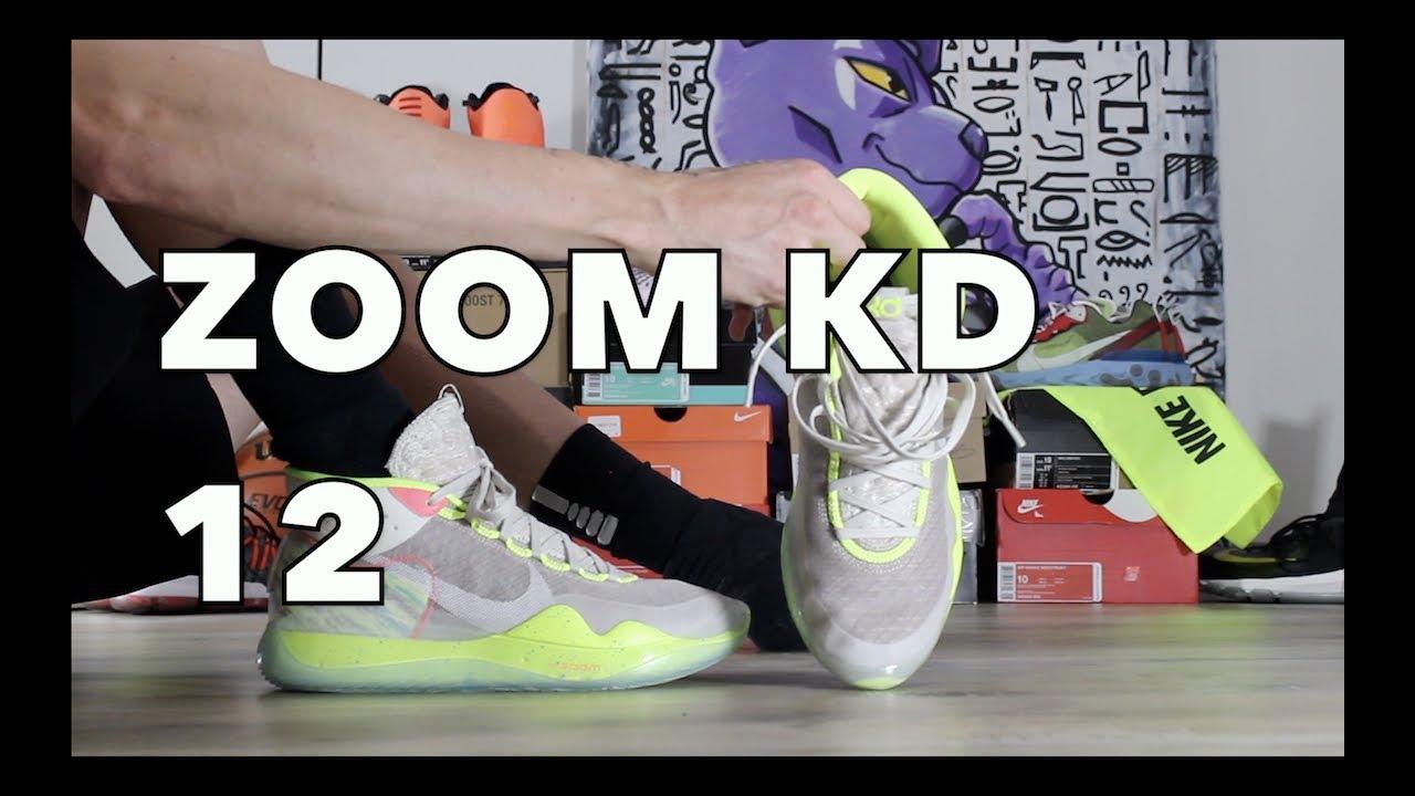 Nike KD 12 90's Kid on Feet - YouTubeKd 4 On Feet