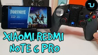 Xiaomi Redmi Note 6 Pro Fortnite Gameplay/PC Games with Vortex App