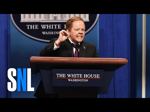 Thumbnail: Sean Spicer Press Conference Cold Open (Melissa McCarthy) - SNL