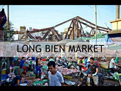 Long Bien Market - Vietnam Rejser