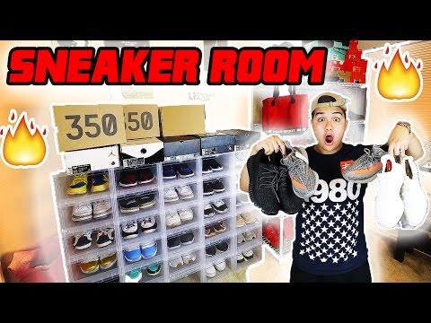LEGITLOOKSFORLIFE'S SNEAKER ROOM TOUR!!🔥 (Full Sneaker Collection)