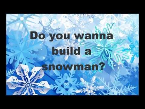 雪だるま 作 ろう 英語 歌詞