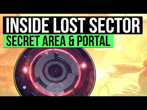 Destiny 2   How To Get Inside a Vex Dungeon: Secret Lost Sector Portal Plate & More!