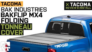 Tacoma Bak Industries Bakflip Mx4 Folding Tonneau Cover 2016 2019