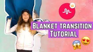 BLANKET TRANSITION MUSICAL.LY TUTORIAL ITA - COPERTA MAGICA?! || Valeria Vedovatti