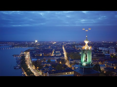 2183. Stadshuset (Stockholm City Hall) Stock Footage Video