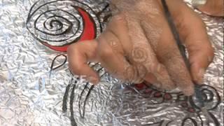 Painting - Aluminium Foil