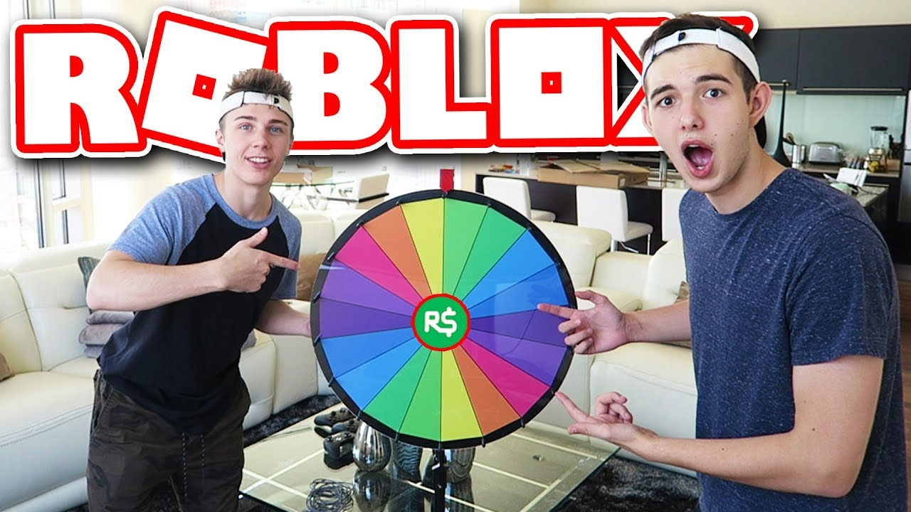 SPIN THE ROBLOX WHEEL! (WIN 50,000 ROBUX iF YOU LAND ON ...