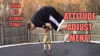 31 inch john cena vs grim backyard wrestling trampoline match giant wwe action figure