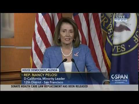 Pelosi criticizes Democrats for using GOP lines against her