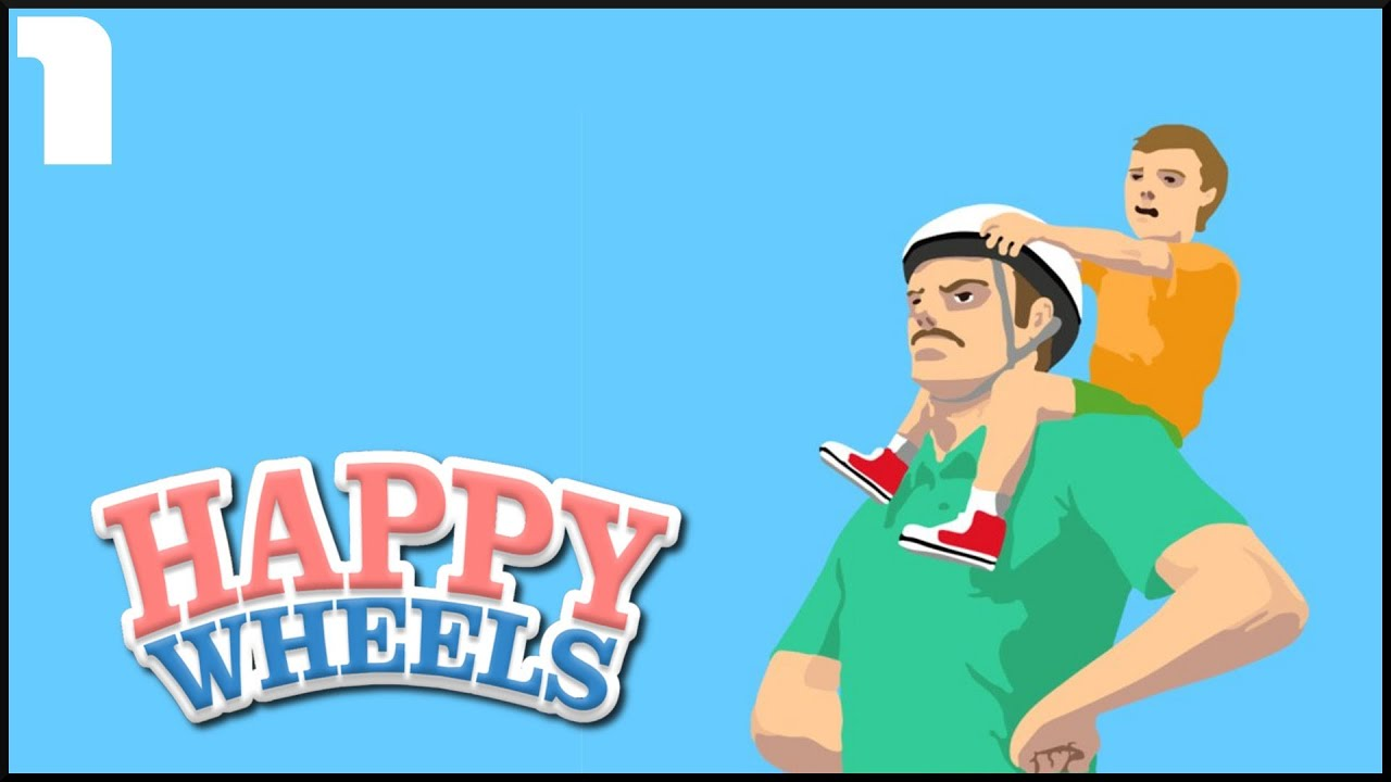 Happy Wheels z Amokiem #01 - Problemy i gośc specjalny.