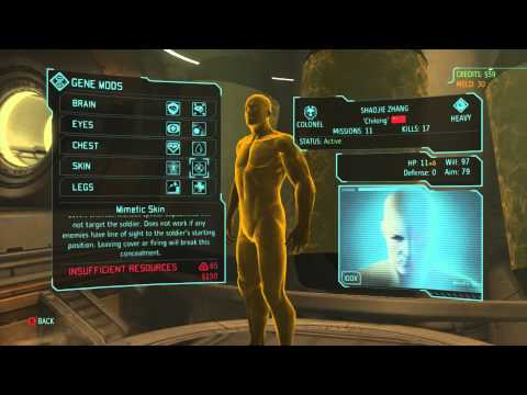 XCOM: Enemy Within -  Gene Mod Guide And Skills Walkthrough/tutorial/tips
