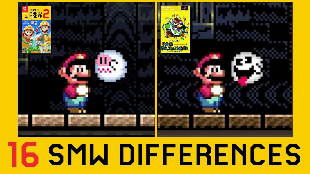 Download 16 Differences Between Super Mario World and Super Mario Maker 2 (Part 2)