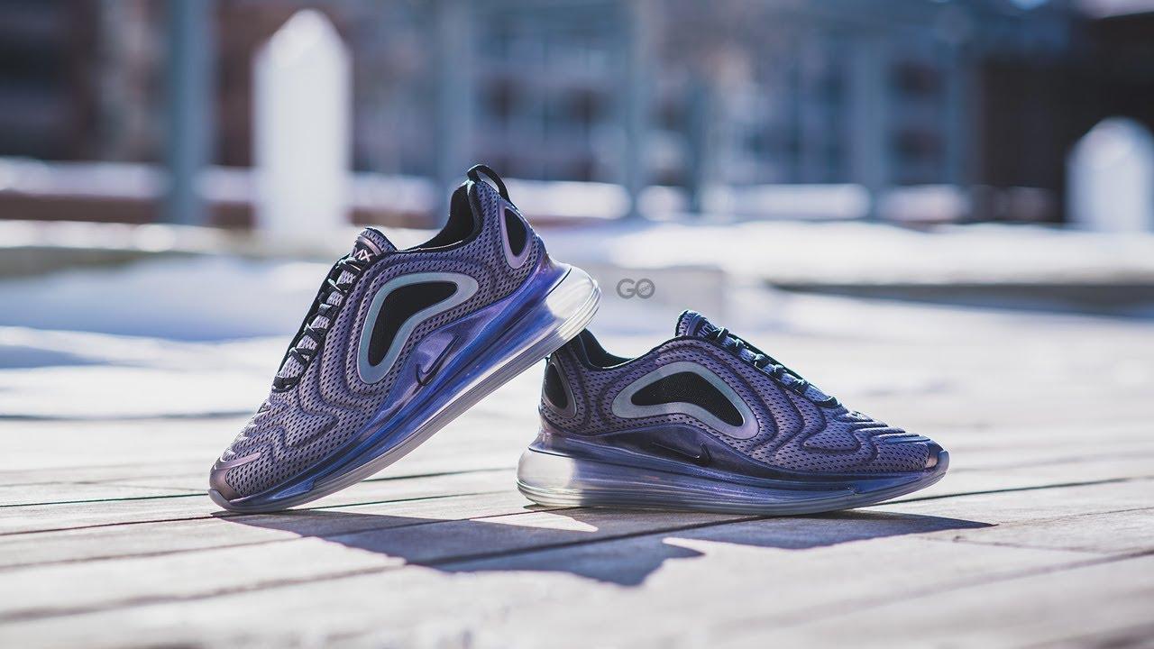 "Nike Air Max 720 ""Anthracite Metallic Silver"" Review – Sean Go"