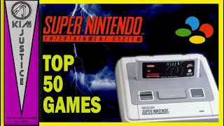 Kim Justice's Top 50 SΝES Games of All-Time