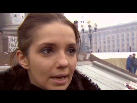 Daughter of former Ukraine Prime Minister speaks