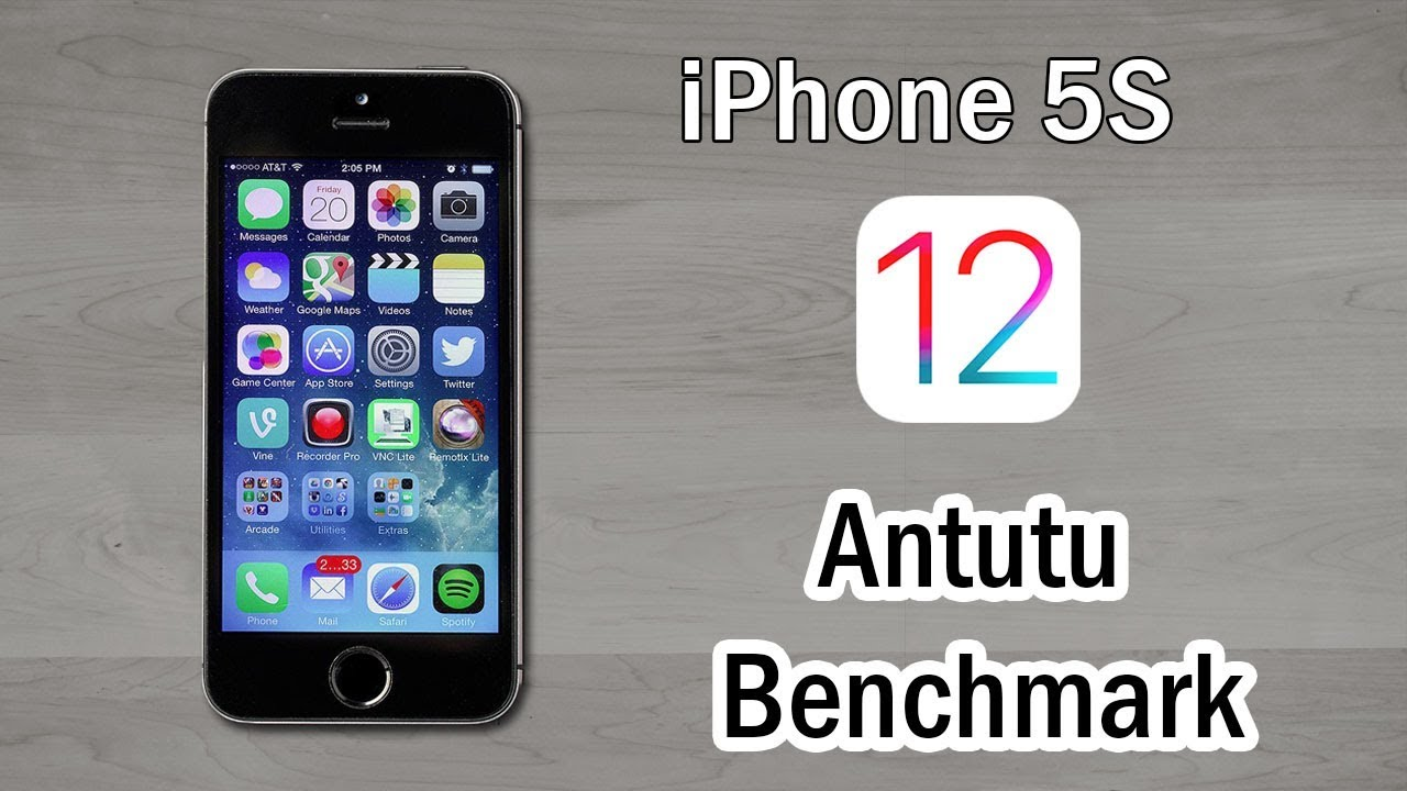 iPhone 5S Antutu Benchmark Test IOS 12 – 2018