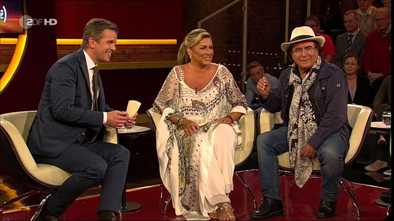 Markus lanz al bano und romina power s nger sprechen ber for Al bano und romina