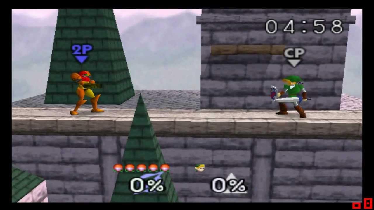 Super Smash Bros Pc Recordando Viejos Juegos Nintendo 64 Youtube