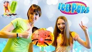 Обзор приложения Ice Pops со Светой и Машей