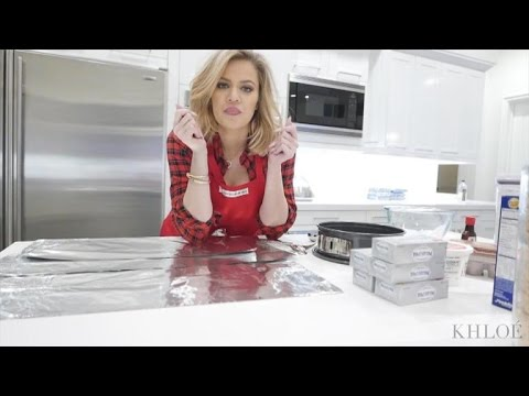 Khloe Kardashian Teaches Us How To Bakes A Cheesecake After Alleged  Thanksgiving Pie Lie   YouTube