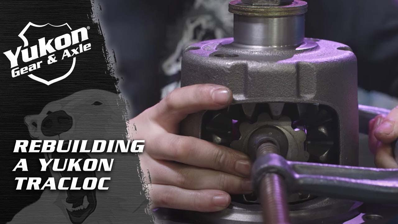 How to rebuild a Trac-Loc positraction
