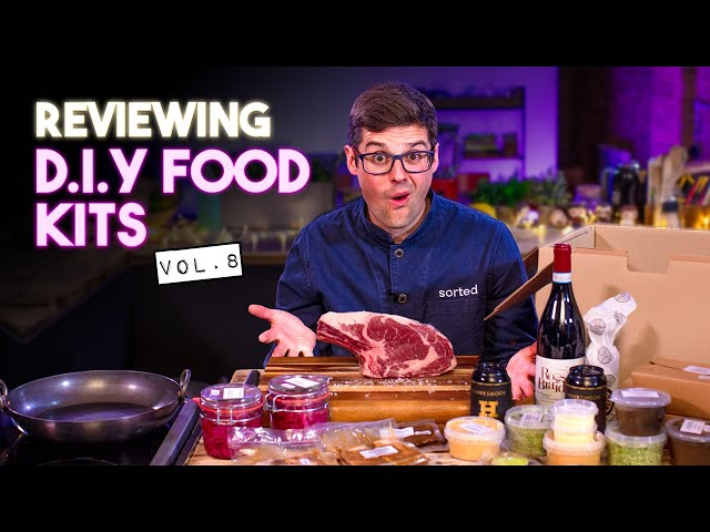 Chef and Normals Review DIY Food Kits Vol.8 | SORTEDfood