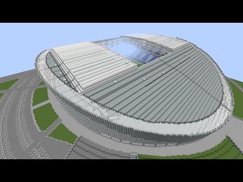 Minecraft - MEGABUILD - Astana Arena (FC Astana) + DOWNLOAD [Official]