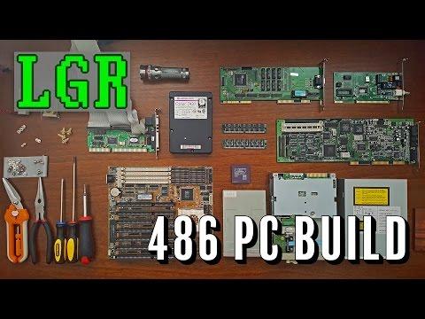 LGR - Building a 486 DOS PC!