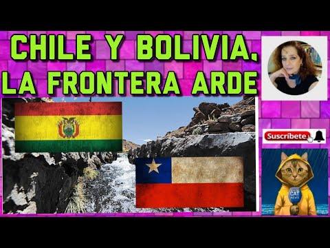 BOLIVIA Y CHILE, LA FRONTERA QUE ARDE