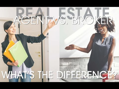 The Difference Between A BROKER and a SALESPERSON in Real Estate?