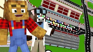 MINECRAFT FARMYARD PALS - PLANNING THE RACE (Minecraft Roleplay Animation)