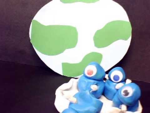 5 little aliens animations