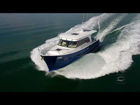 The all New Hudson Bay 390 | Clipper Motor Yachts