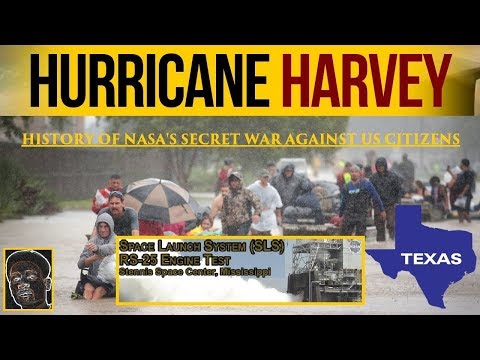 100% Proof Hurricane Harvey & Others Are Created by NASA @ Stennis MUST WATCH 1