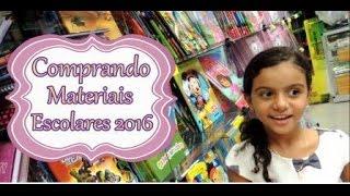 Comprando materiais escolares 2016 - Isabela Vaidosa thumbnail