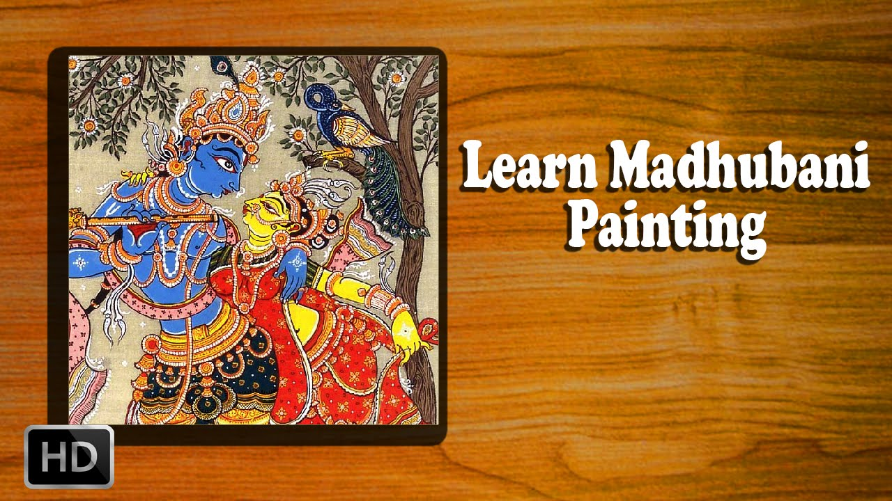 Learn how to make madhubani painting madhubani art for Basic painting