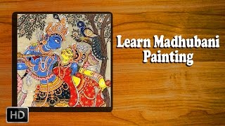 Learn How to Make Madhubani Painting - Madhubani Art - Basic Painting Techniques