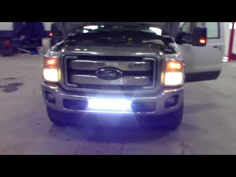 How To Wire LED Light Bar To Aux Switches (2016 F250 Powerstroke)