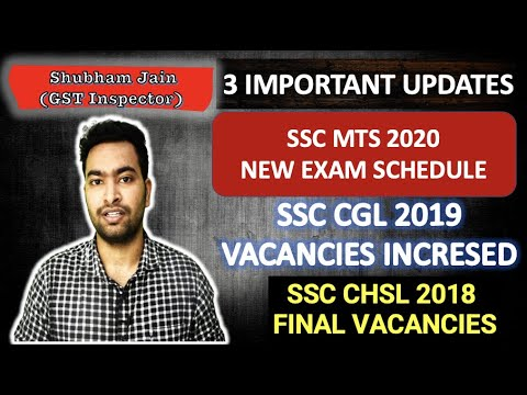 Download SSC 3 IMPORTANT UPDATES  SSC CGL  SSC CHSL  SSC MTS